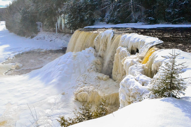 Winter Taq Falls