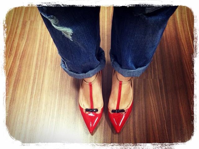 Zapatos zara valentino