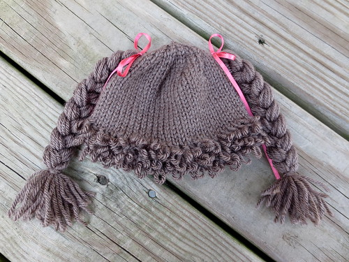 Lindsay s Library  Knitting FO  Cabbage Patch Doll Baby Hat 8260d81b8f7