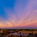 Sunset Clouds Over Brooklyn by AMRosario