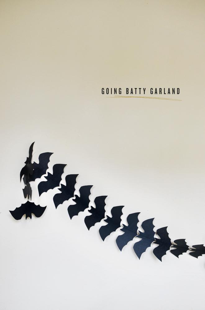 going batty garland