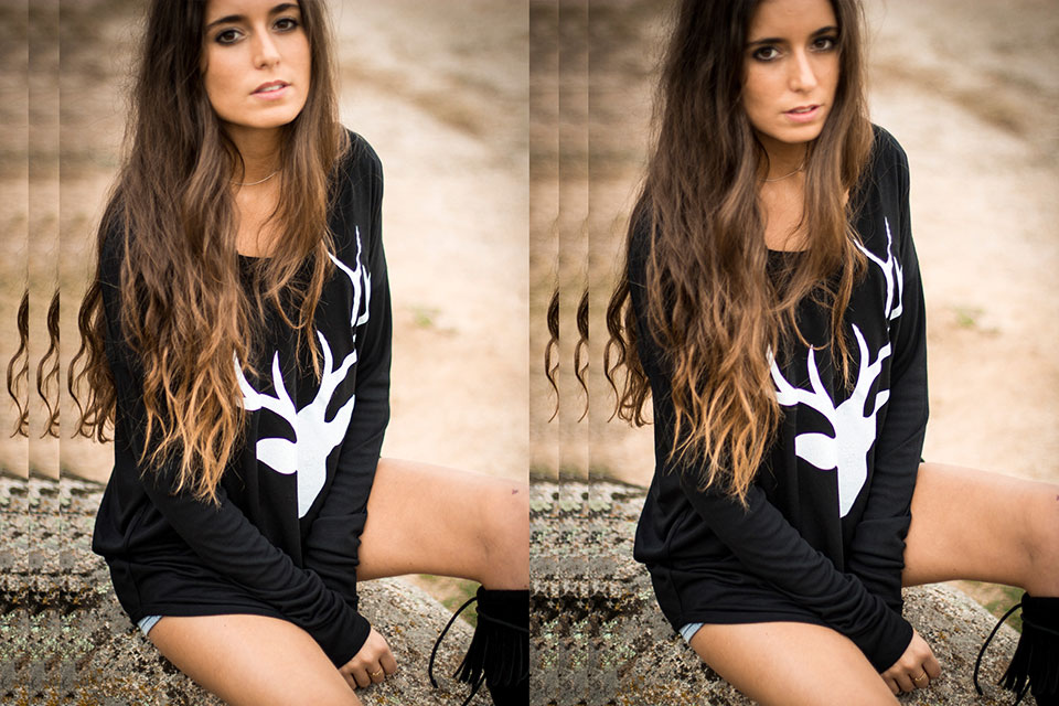 camiseta bambi ciervo