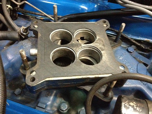 Carb Spacer - Do I need to keep it? - Vintage Mustang Forums