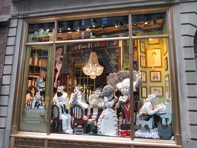 Al Hirschfeld - 2013 Christmas Windows Henri Bendel s NYC 0428