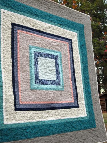 Housetop quilt