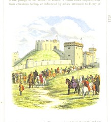 Image taken from page 165 of 'A Chronicle of England B.C. 55-A.D. 1485, written and illustrated by J. E. D. The designs engraved and printed in colours by E. Evans. F.P'