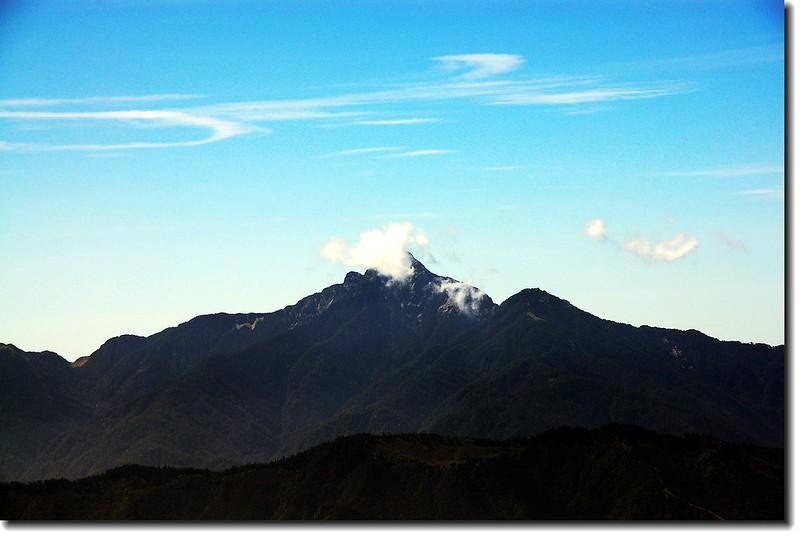 中央尖山(From布秀蘭東南望)