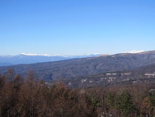 乗鞍岳、穂高岳、槍ヶ岳 2013年11月30日09:52 by Poran111