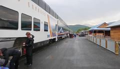 Pociągiem do Fairbanks - Stacja Park Narodowy Denali