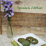 spinach cookies