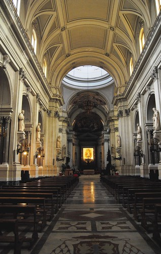 Inside the Cathedral, looking towards to Altar