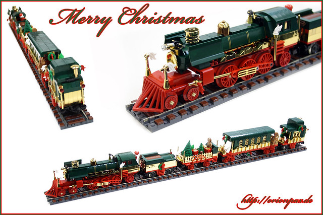 Lego Christmas Train.Christmas Train Bricknerd Your Place For All Things Lego
