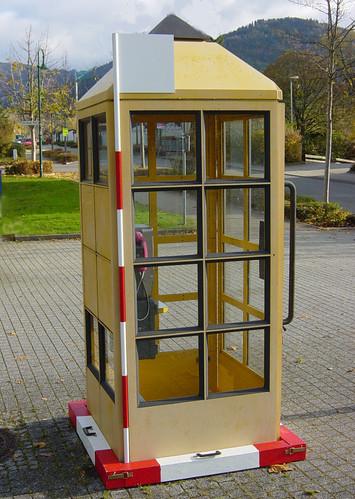 1qm Telefonzelle