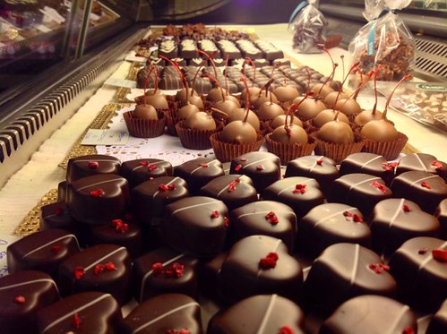 Bombones de Chocolate Rico