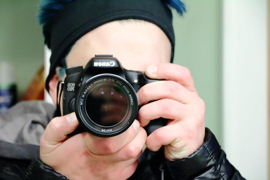 Obligatory Selfie Avec Camera