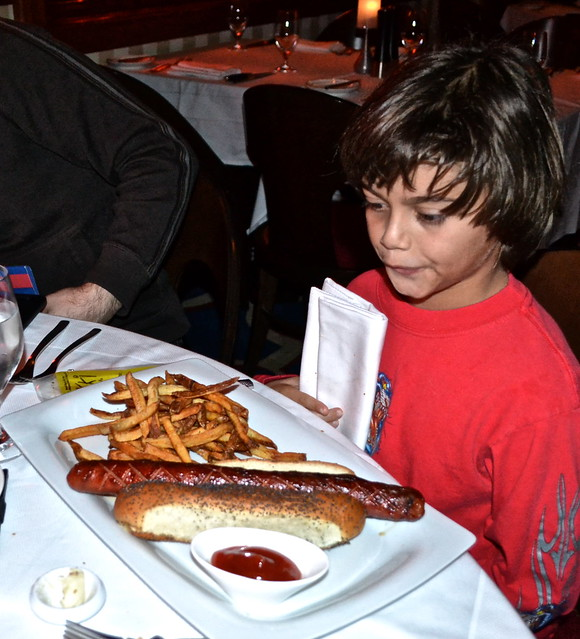 The Breakers Hotel, Palm Beach, Florida - Flagler Steakhouse - hot dog