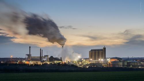 sunset suffolk nikon factory nikkor beet eastanglia d800 burystedmunds britishsugar leefilters 70300vr absugar associatedbritishfoodsplc