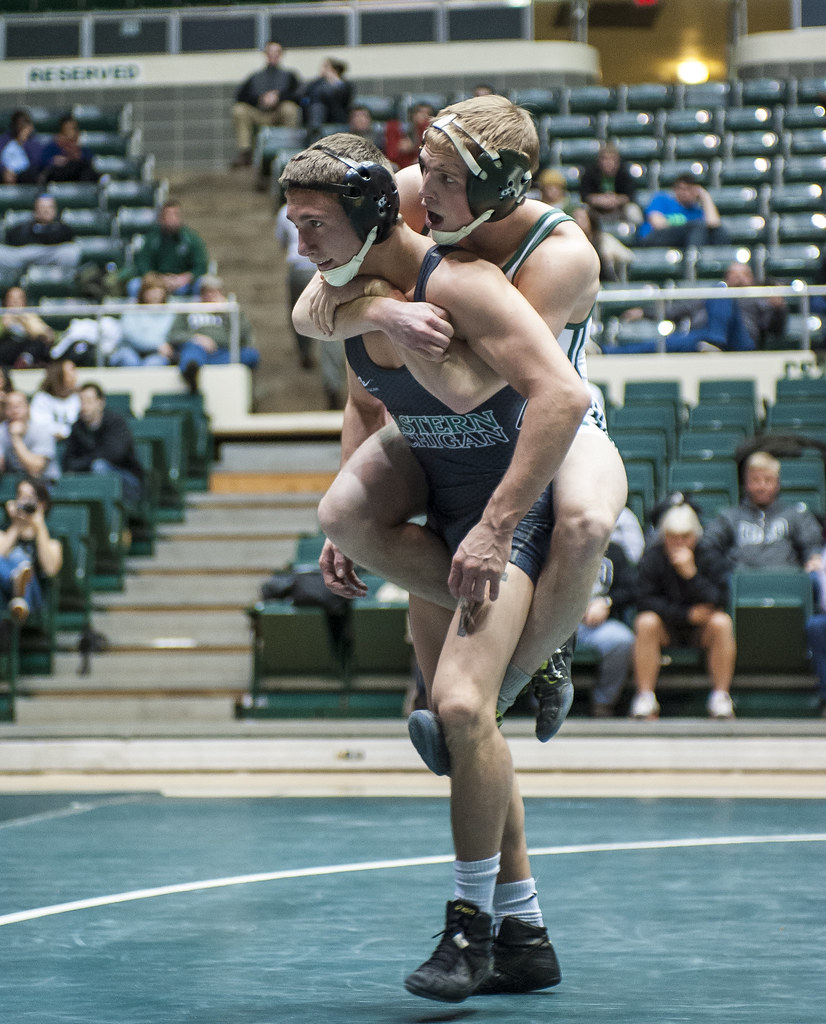 Ohio Bobcats Wrestling Vs. Eastern Michigan