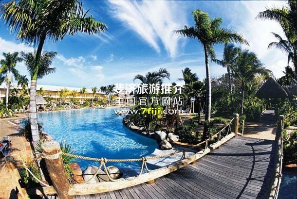 斐济奥瑞格礁湖度假酒店(Outrigger on the Lagoon Fiji)游泳池