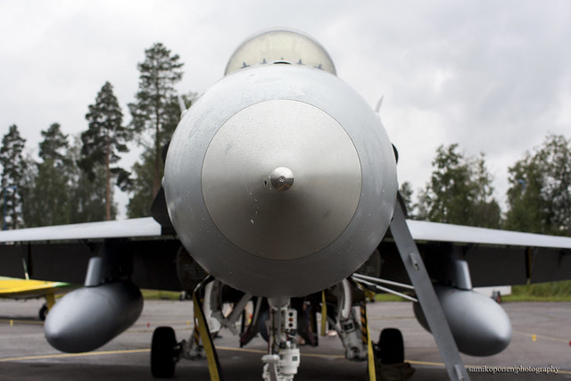 Finnish airforce F-18 Hornet