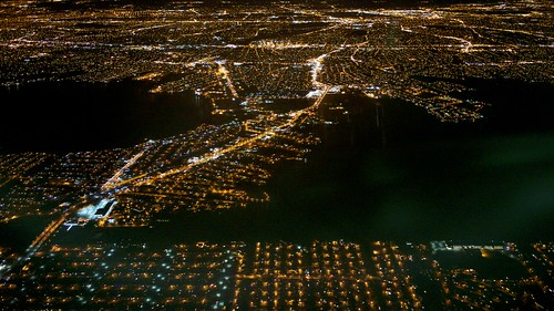 city light urban usa ny newyork horizontal night landscapes fly us flying action outdoor aircraft aviation nobody aerial fromabove longisland longbeach repetition metropolis lookingdown fromadistance megalopolis islandpark