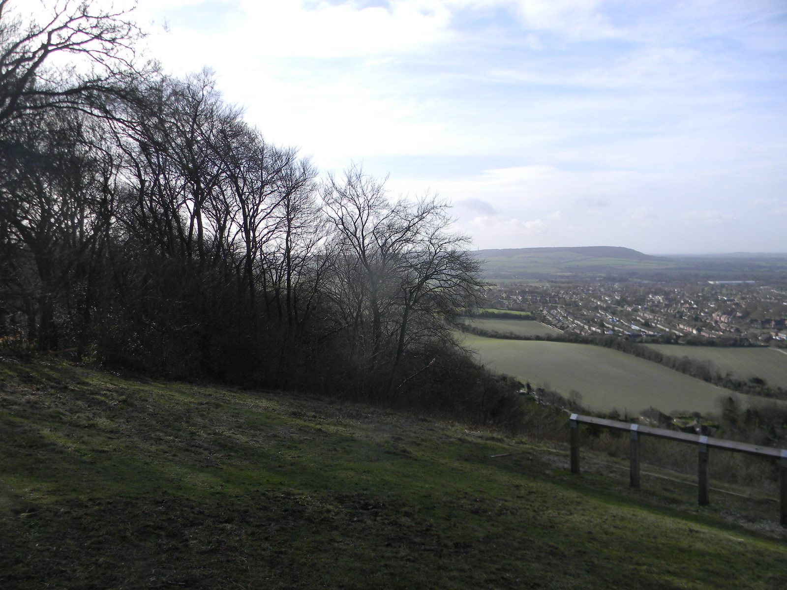 View from Whyteleaf Hill Princes Risborough to Wendover