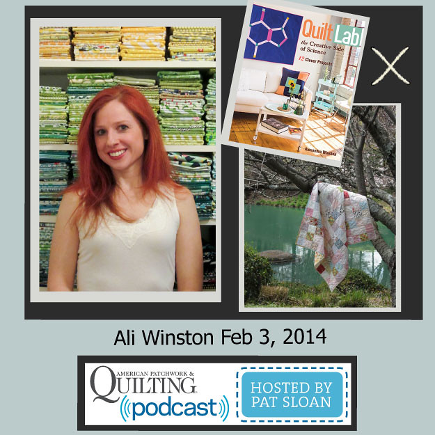 Ali on Quilting Radio!
