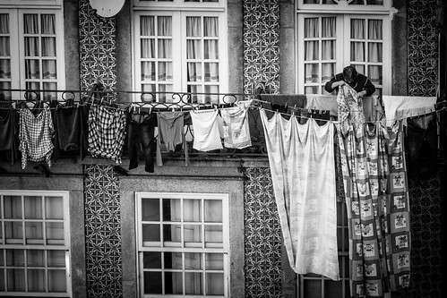 Hanging clothes by Davide Restivo