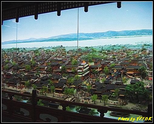 杭州 吳山天風景區 - 055 (城隍閣 內的南宋時期的杭州風情軟木立體畫))
