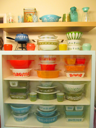 Rainbow of Pyrex by AquaOwl
