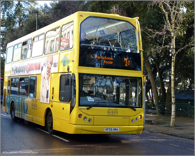 Yellow Buses DA113 HF05HNA