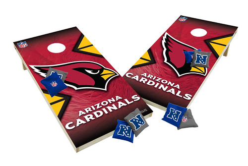 Arizona Cardinals Custom Cornhole Boards XL