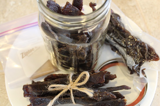 Store Beef Jerky in  Mason Jars, Ziplocks or Food Saver Bags