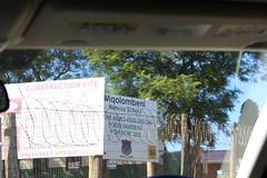 Mqolombeni Primary School - main entrance