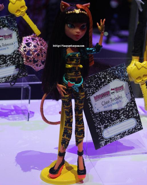 NY Toy Fair 2014 - MH Freaky Fusion: Cleo & Toralei