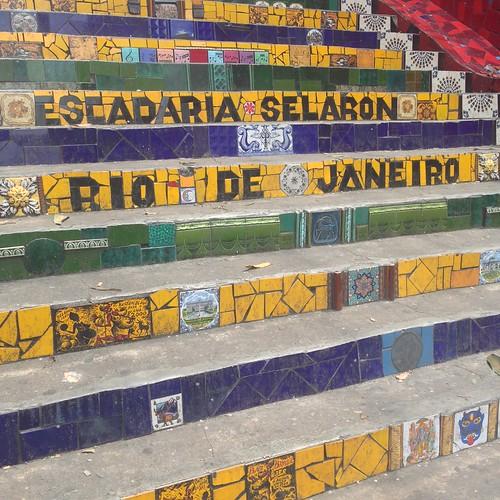 Escadaria de Selarón - Río de Janeiro