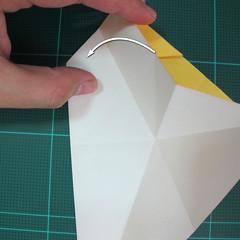 วิธีการพับกระดาษรูปม้าน้ำ (Origami Seahorse) 013