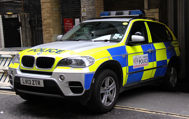 City of London Police BMW X5 Armed Response Vehicle - LV13 ZTR