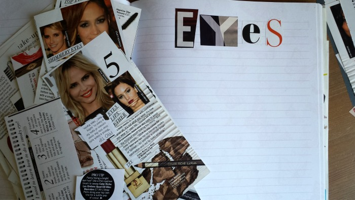 Beauty Scrapbook / Eyes / raspberrycheeks