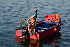 mariscar desde embarcación