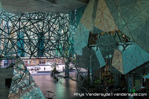 Federation Square - Melbourne, Australia, 2014