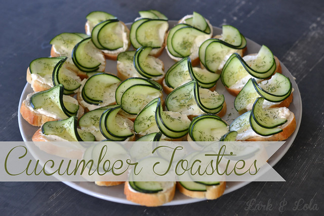 Cucumber Toasties
