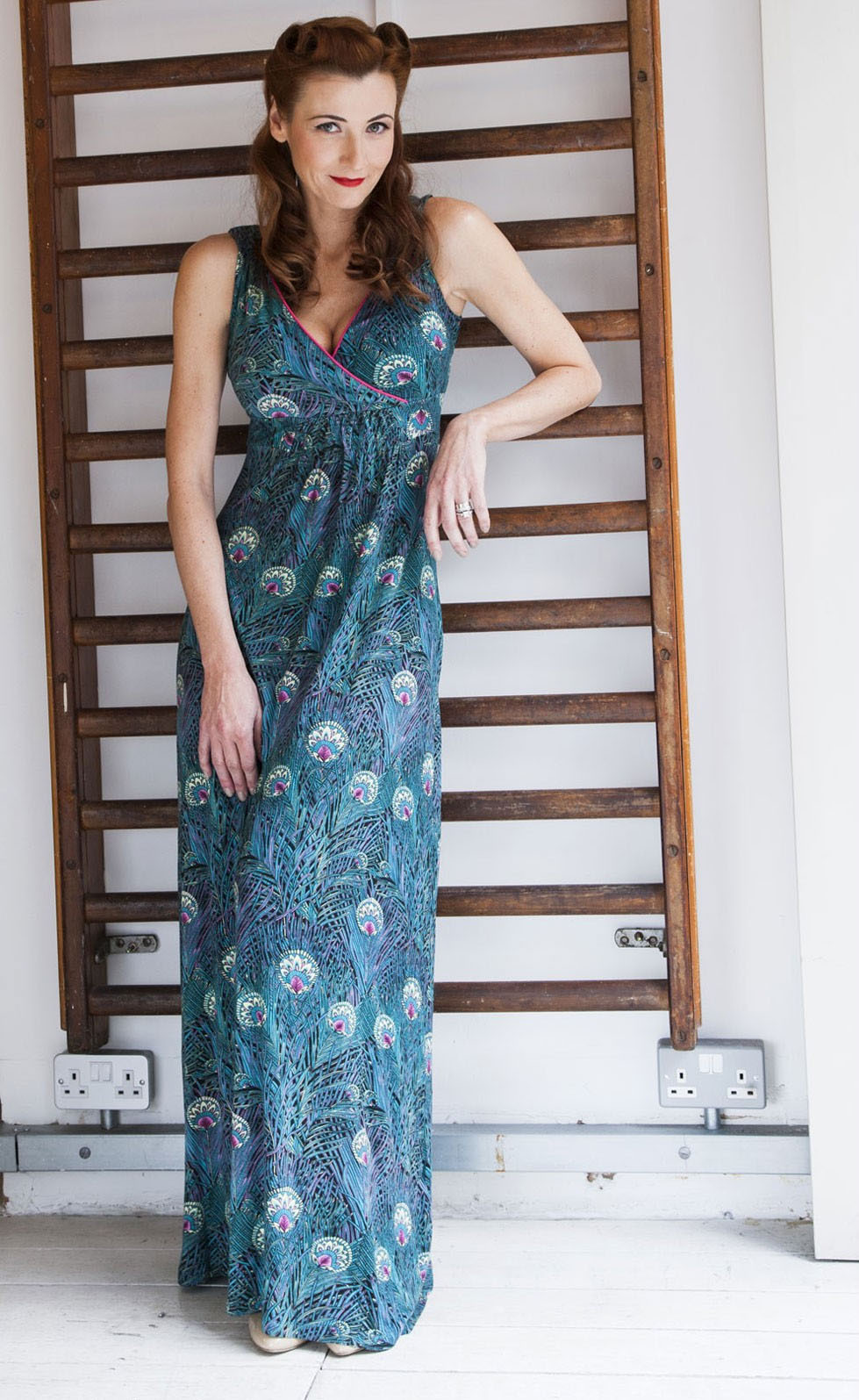 Fever London - Arlington Maxi Dress Multi