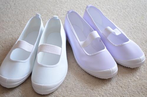 上履き(上靴) javari  小学生の娘ふたりのために上靴を購入しました。 あゆあゆはいつもj