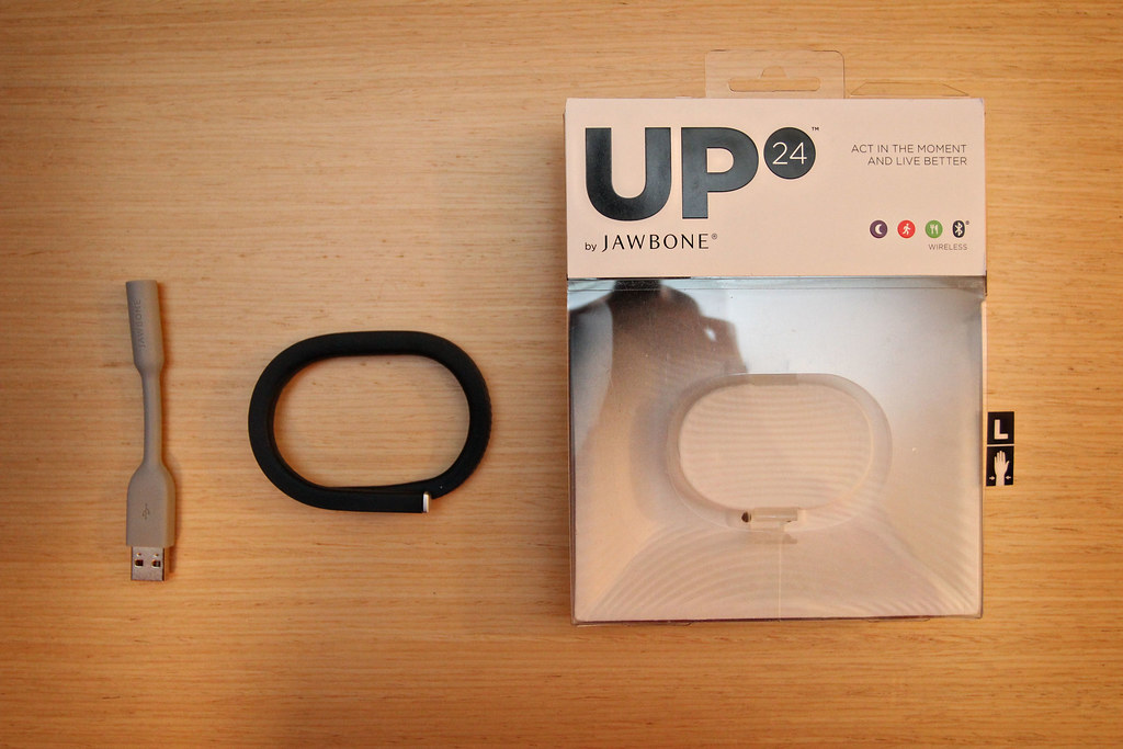 Jawbone UP wearable tech, activity tracker