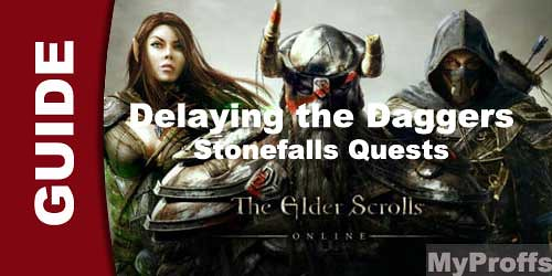 The Elder Scrolls Online Delaying the Daggers
