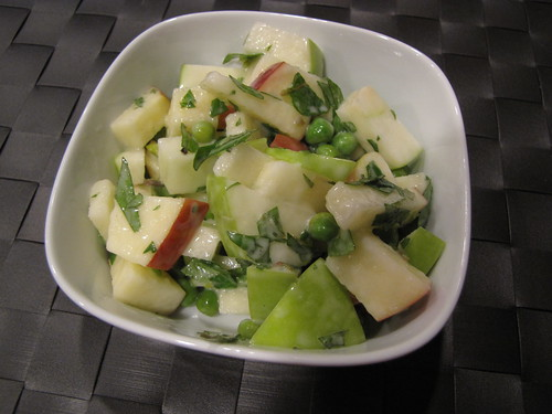 Spring Pea & Apple Salad