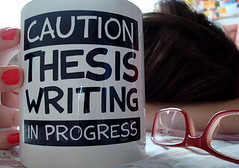 Caution... #Dissertation Writing In Progress