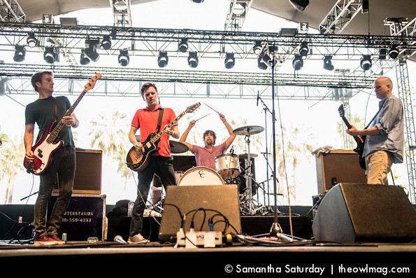 Superchunk @ Coachella 2014 Weekend 2 - Sunday