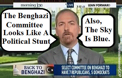 Todd Admits Benghazi Committee Is Political